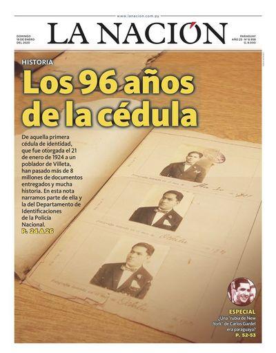 Edición impresa, 19 de enero de 2020
