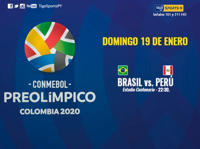 Brasil y Perú juegan por el Grupo de Paraguay