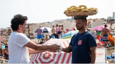 Chipa celiaca en las playas de Argentina
