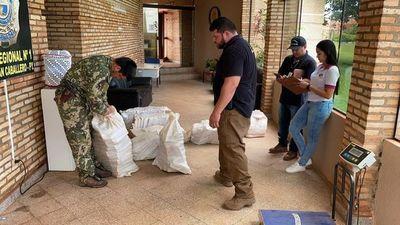 Incautan cargamento de marihuana marroquí en Capitán Bado