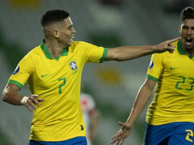 Un gol le alcanzó a Brasil para vencer a Perú en el Preolímpico