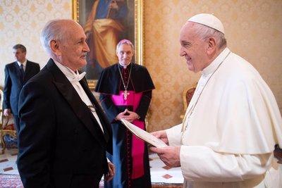 Embajador ratificó al Papa compromiso de acompañar iniciativas impulsadas por el Vaticano
