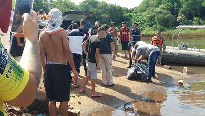 Hallan cadáver a orillas del río Paraná