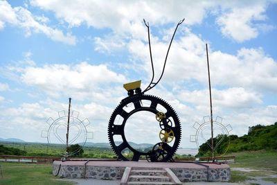 Esculturas son una atracción turística en Vallemí