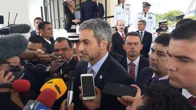 Mario Abdo admite complicidad de autoridades en fuga de reos