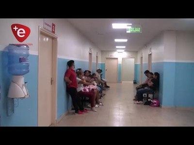 HOSPITAL PEDIÁTRICO AUMENTA ATENCIONES DE PACIENTES QUE SE LLEGAN DE DIFERENTES PUNTOS DE ITAPÚA