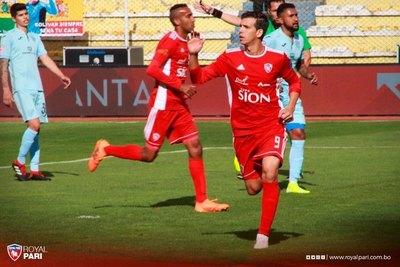 Pablo Zeballos ya entrenó con el 12 de Octubre