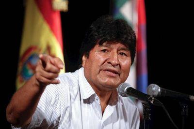 Evo Morales anunció candidatos de su partido