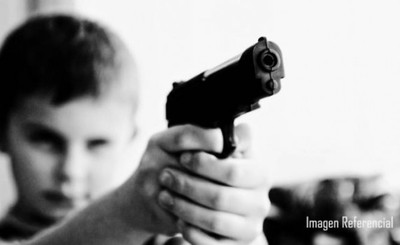 Niños de 12 y 13 años intentan asaltar a brasileña