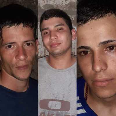 Policía recaptura en Concepción a tres reos fugados de la cárcel de PJC
