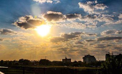 Meteorología anuncia una jornada inestable y con mucho calor