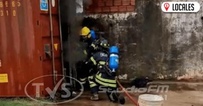 Incendio de cubiertas causó susto en la ANNP de Encarnación