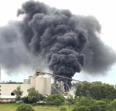 Se registra principio de incendio en planta del INC
