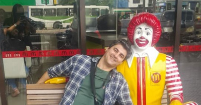 MIGUEL ESCOZ: El actor que lamenta la  desaparición de Ronald