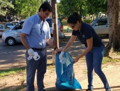 Operativo contra el dengue en Itá, con apoyo de la EBY