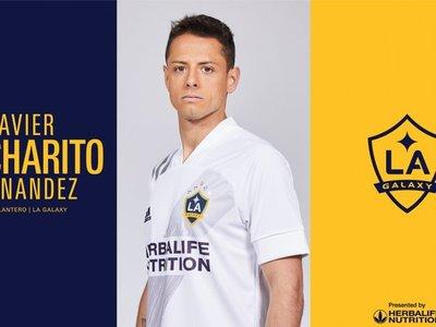 El mexicano 'Chicharito' Hernández, presentado en su nuevo club
