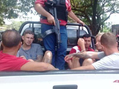 Caen cuatro brasileños y un paraguayo en Yby Yaú
