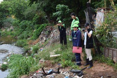 Realizan monitoreo ambiental en alrededores del Cerro Lambaré