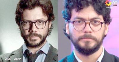 """Clon paraguayo del """"Profesor"""" compite en la tevé curepa"""