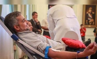 HOY / Confirman que Mario Abdo tiene dengue
