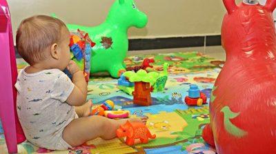 Habilitan sala de juegos en pabellón pediátrico en Tesãi