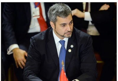 Mario Abdo tiene dengue