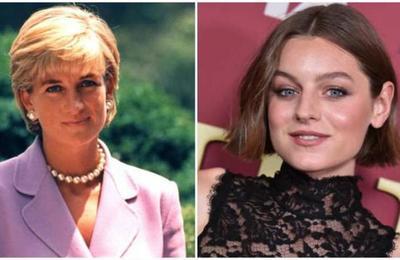 Revelan nuevas imágenes de 'The Crown' y Emma Corrin luce idéntica a Diana de Gales