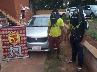Procesan a presuntos asaltantes que tenían en su poder automóvil robado