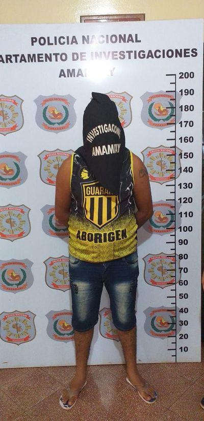 Detienen a supuesto sicario en Pedro Juan Caballero