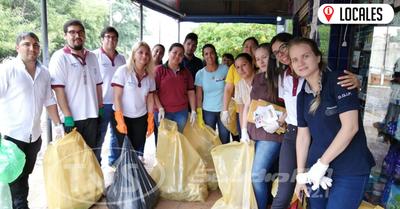 MTESS y el SNPP realizaron minga ambiental en Encarnación
