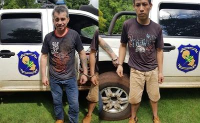 Recapturan a otros dos reos fugados del penal de PJC