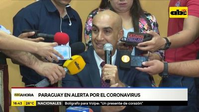 Paraguay alerta por el coronavirus