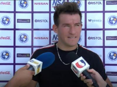 """Milciades Portillo: """"Estamos pensando en Luqueño, lo de River ya pasó"""""""