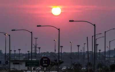 Para hoy se espera un día cálido a caluroso con vientos del sureste