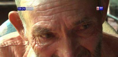 Desgarrador: Abuelito denuncia maltrato y abandono