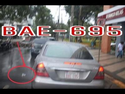 ENCARNACIÓN: AUTOMOVILISTA FUE MULTADO POR ARROJAR BASURA A LA VÍA PÚBLICA