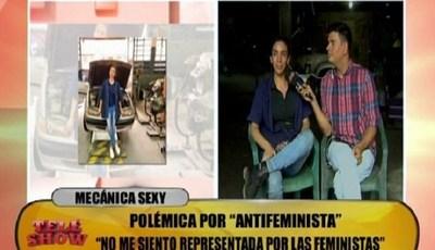 "Mecánica sexy lamentó poca ""sororidad"" de feministas paraguayas"