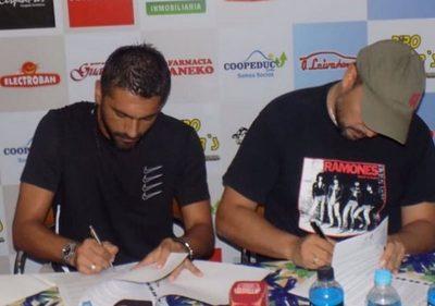 Salcedo y Miño refuerzan Guaireña