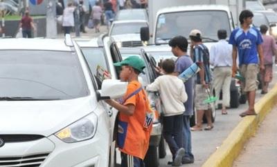 Más de 110 puntos críticos con niños en situación de calle en Asunción y Central