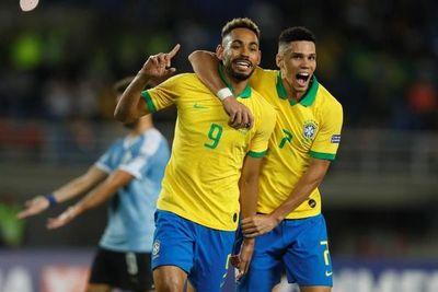 3-1. Pedrinho, Cunha y Pepê consolidan a Brasil y frenan en seco a Uruguay