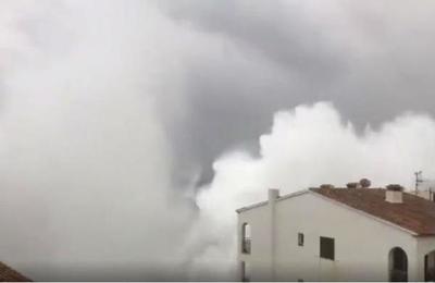 Olas de hasta 10 metros se han registrado en España producto de la violenta tormenta Gloria