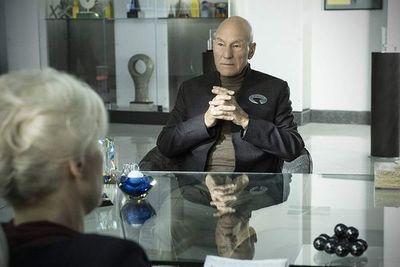 Patrick Stewart se pone de nuevo el traje del comandante Picard en Star Trek
