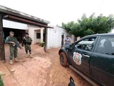 Allanaron vivienda de exjefe de seguridad de la Penitenciaría Regional de PJC