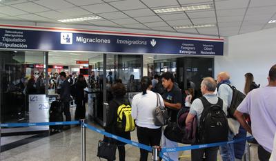 Vigilancia sanitaria en aeropuerto amplía protocolo de observación para posibles casos de coronavirus