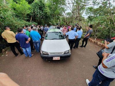 Concejal de CDE asegura que se quiere satanizar a los taxistas
