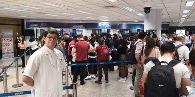Coronavirus: oñemba'apóma oñemombia haguã aeropuerto Silvio Pettirossi guive