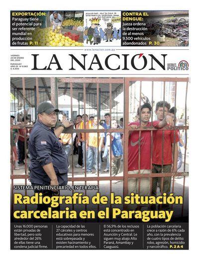 Edición impresa, 24 de enero de 2020