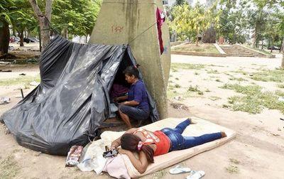 Policía y Municipio se comprometen a liberar Plaza de Armas