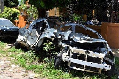 Jueza autoriza la destrucción de vehículos abandonados