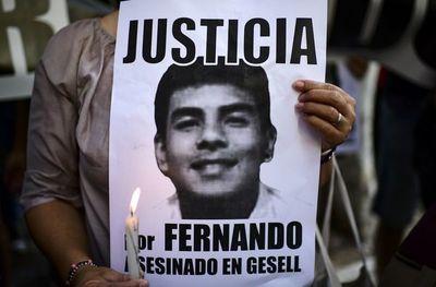 Protesta en Argentina por asesinato de Fernando Báez a manos de rugbiers